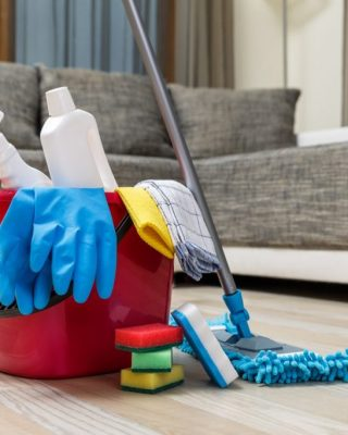 new house cleaning